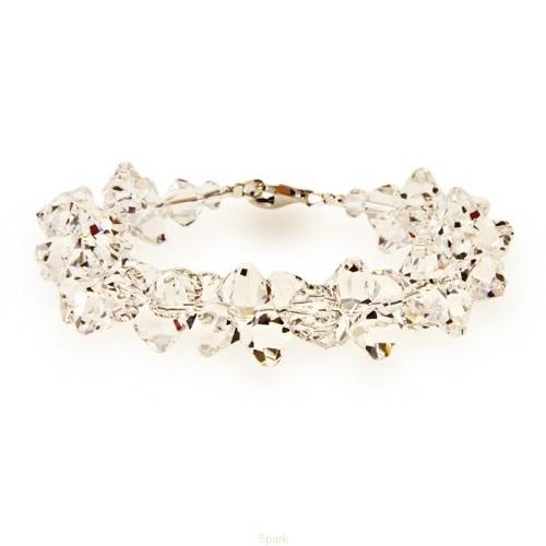 Šperky VANDAMA.SK - Náramok BICONE s kryštálmi Swarovski Elements ... 255097c0551